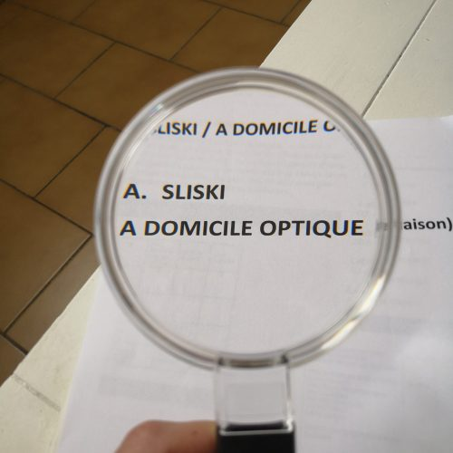 Loupes de lecture à main